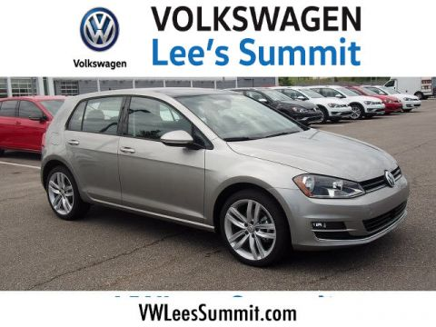 New 2017 Volkswagen Golf TSI SEL 4-Door